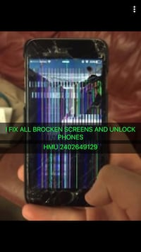 I fix all broken phones iphone 4,4s,5,5c,5s,6,6+,6s,6sq+,7,7+,8,8+,x and all samsung phones repairs Washington