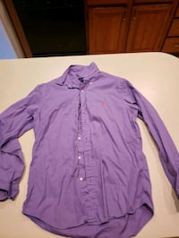 Purple mens dress shirt Chatham, 62629