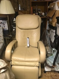 Leather 'Human Touch' Massage Chair
