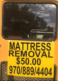 matress removal Fort Collins
