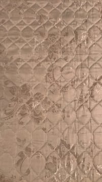 White and gray floral mattress cover Ellicott City, 21042