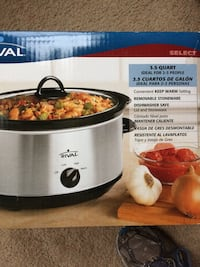 rival 3.5 quart slow cooker box Hagerstown, 21740