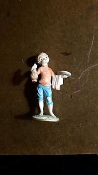 ITALY Vintage Figurine pizza Boy Airdrie, T4B 0E4