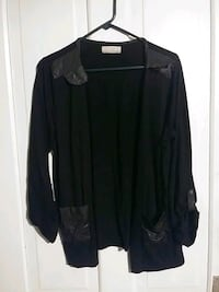 black open cardigan Augusta, 30904