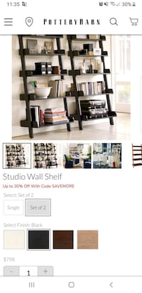 ((NEW)) POTTERY BARN LADDER SHELF | $175-$350 Silver Spring, 20910
