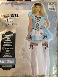 Halloween costume-Wonderful Alice Adult Small like new Vaughan, L6A