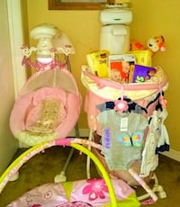 Baby bundle Swing, basinet, wipes warmer and more! Pittsburg, 94565