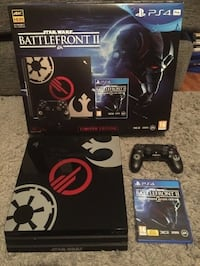 PS4 Pro Star Wars Battlefront II Edition