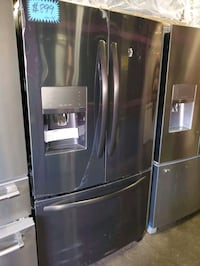 F. French doors fridge NEW scratch and dent