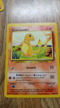 Base Set Charmander - Great Condition (7)/Used (2) Cape Canaveral, 32920