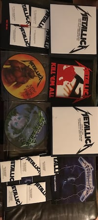 Kill em all, ride the lightning and master of puppets remastered deluxe box editions. Everything included Chicago, 60657