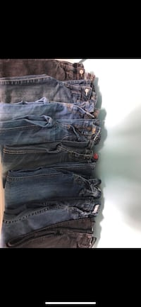 Lot of little girls jeans size 8- justice, old navy, target, Cherokee  Winchester, 22602