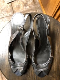 pair of gray leather sandals Bakersfield, 93314