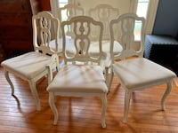 5 Vintage Refinished Dining Room Chairs Germantown, 20876