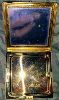 Antique Mother of Pearl Make-up Case