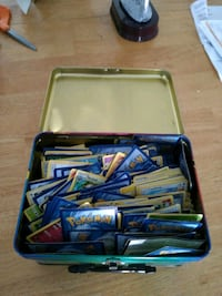 Pokemon Cards and Box