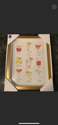 NWT Cocktails Art In Gold Frame West Chester, 19382
