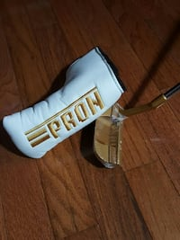 pron gold and silver golf club putter 페어팍스, 22032