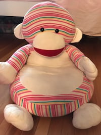 sock monkey plush toy Vancouver, V6P
