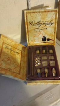 Calligraphy Sets (2) plus extra pen and inks