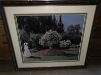 Claude Monet Print 'Jeanne Margurite Lecadre' ( Lady in the Garden) Bakersfield