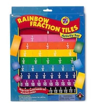 Rainbow Fraction Tiles Virginia Beach, 23456