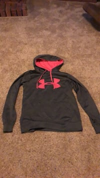 black and pink Under Armour pullover hoodie Neenah, 54956