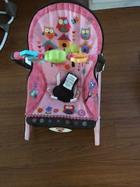 Baby rocket and booster seat
