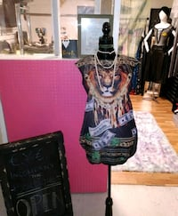 women's green and black floral traditional dress Virginia Beach, 23462