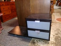 Lateral Black 2 Drawer File Cabinet w/extra space St. Louis, 63102
