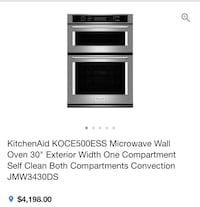 Microwave and oven Toronto, M3N 2R5