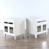 Z Gallerie Concerto Nightstands (1020098) South San Francisco