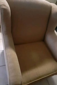 2 Gold chairs