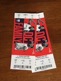 Two Wizards vs Toronto Raptors Tickets Arlington, 22206