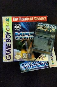 Missile Command Nintendo Game Boy Color w/ box and manual New Westminster, V3M 3Y3