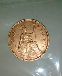 1940 One Penny Coin Great Britain En Anchorage, 99502