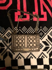 black and gray leather handbag Cathedral City, 92234