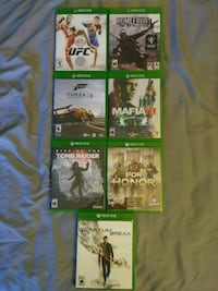 Xbox One Games(Various prices) Santa Ana, 92707
