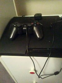 black Sony PS3console with controller Lubbock, 79415