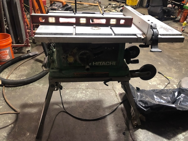 Used Hitachi Table Saw C10fr