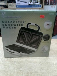 Toastmaster 2-Section Sandwich Maker, White  Baltimore, 21216