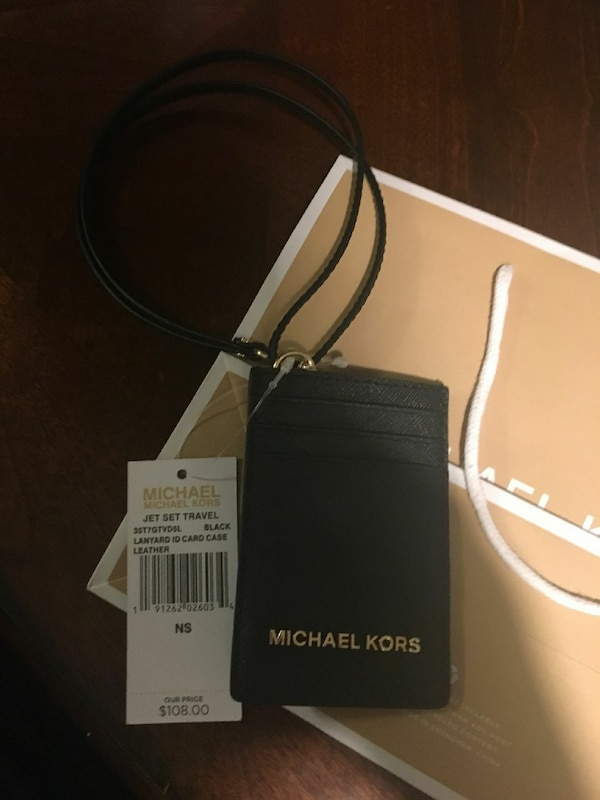 ac321faf03c1 Used NWT michael Kors lanyard card holder for sale in Lexington - letgo