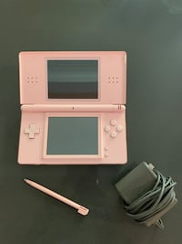 Pink DS lite w/ game