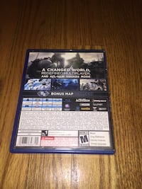 PS4 Call of Duty Ghosts case Woodbridge, 22193