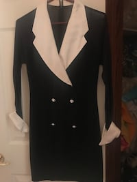Dress with rhinestone buttons  Welland