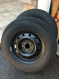 Two Used WINTERCAT SST Winter Tires with Rim -  [TL_HIDDEN] S Mississauga, L5M