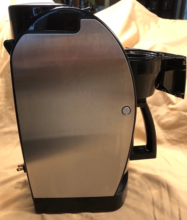 Cuisinart Grind & Brew, Brushed Chrome Coffee Maker 62874bfa-d844-4763-a3cf-6dcba467a387