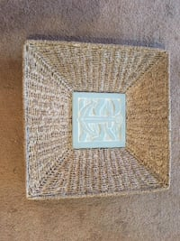 Wall Art New Nautical Themed Wicker Woven Artwork  Lansdowne