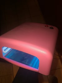 Nail uv light like new  Hidalgo, 78557