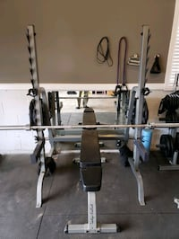 Squat Rack & Bench